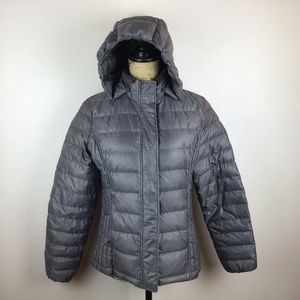 32 Degrees Heat Packable Hooded Down Puffer Coat